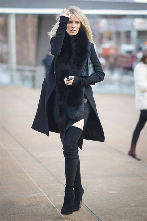 thigh high boots 9 tips on how to wear them with dresses