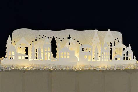 Halloween Gift Wrap - winter wonderland luminaria free svg cut files hey let s make stuff