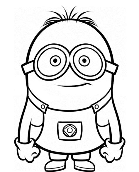 girl minion coloring page dave the minion despicable me coloring pages cartoon