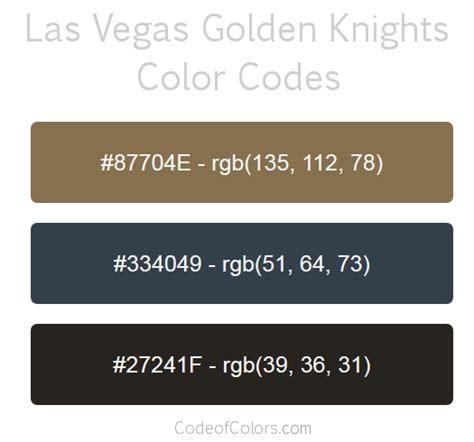 vegas colors las vegas golden knights team color codes uhhhhh i