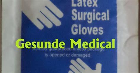 Sarung Tangan Bedah sarung tangan bedah surgical gloves toko medis jual