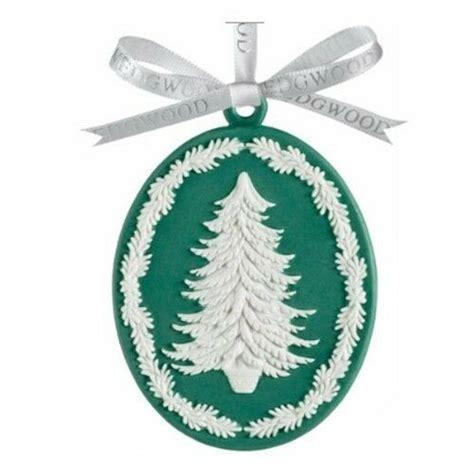 waterford jasperware christmas ornaments wedgwood decorations green jasperware tree ornament new ebay