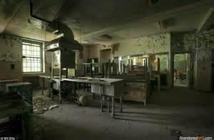 Hospital Kitchen In New York Abandoned Hospital Inside