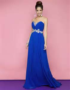 royal blue dress ivory