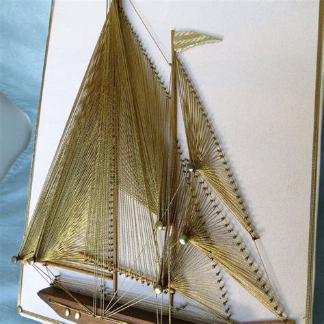 String Boat - 17 best ideas about sail boat crafts on button