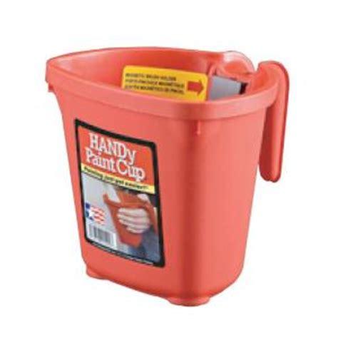home depot paint plastic handy paint pail 16 oz plastic paint cup 12 pack 1500