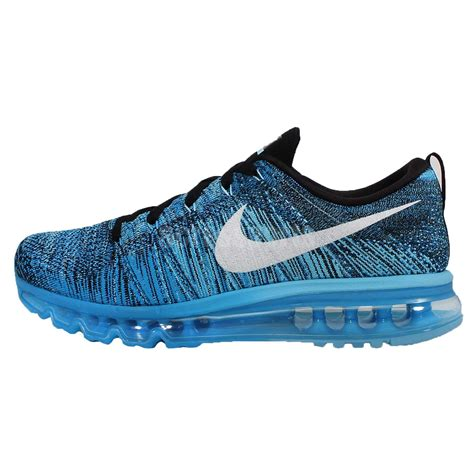 Nike Flyknite Max Made In nike flyknit max blue white mens running shoes cushion air