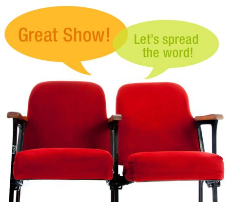 Talking Chair by Theater Marketing Ideas Be A Smash Hit