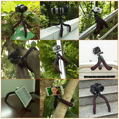 Spider Mini Tripod Gorillapod Gorilapod מוצר fosoto octopus tripods stand spider mobile