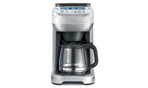 Breville Coffee Maker breville youbrew glass carafe coffee maker with conical burr grinder cutleryandmore