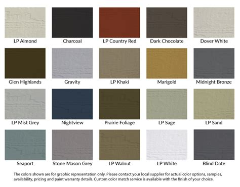 lp smartside siding colors search engine at search