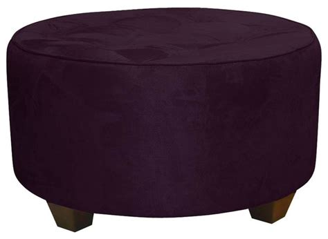 large round cocktail ottoman round upholstered cocktail ottoman contemporary