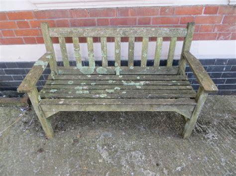 antique teak bench antiques atlas vintage weathered teak garden bench seat