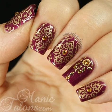 Manik Nail Nailart 25 best ideas about indian nail on indian