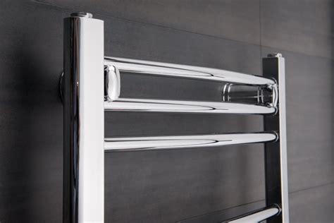 heated towel rail radiator bathroom bathroom heated towel rail radiator curved ladder warmer chrome or white ebay