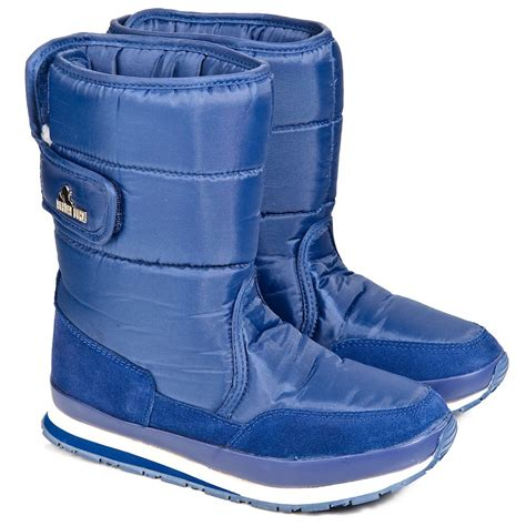 rubber duck blue classic womens snow boot from rojo