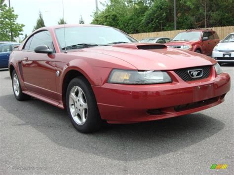 2004 mustang colors 2004 redfire metallic ford mustang v6 coupe 48663185