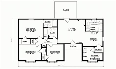 3 bedroom house plans with photos 3 bedroom 1 floor plans simple 3 bedroom house floor plans