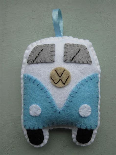 felt vw pattern 256 best images about felt ornaments for christmas on