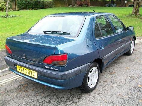 peugeot saloon cars used peugeot 306 2001 manual diesel 1 9 stdt 4 door blue