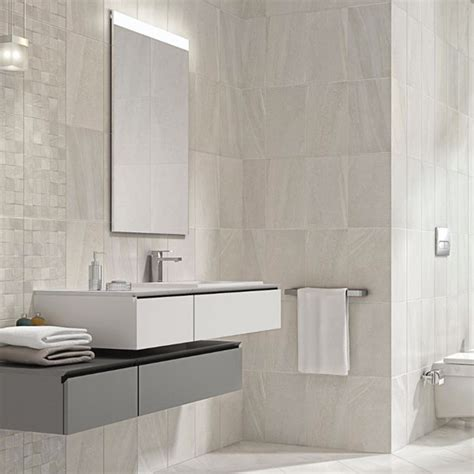 white stone bathroom tiles fiji stone white decor wall tile rm 9198 ceramic planet