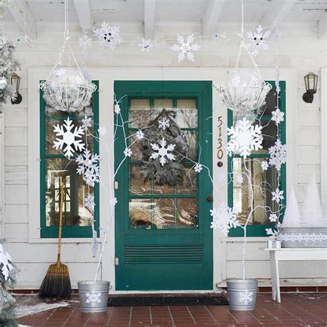 veranda dekorieren weihnachtliche dekoration f 252 r einen festlichen hauseingang