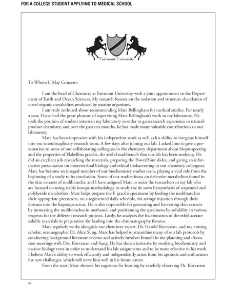 Recommendation Letter Med School School Letters Of Recommendation Your Faq Inquarta