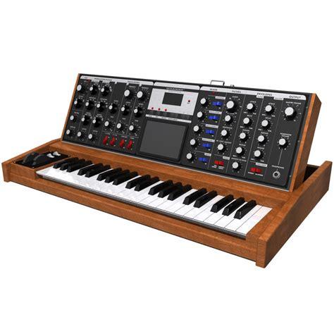 Keyboard Synthesizer 3d keyboard synth synthesizer model