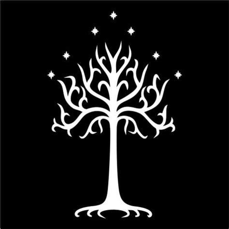 gondor tree lord of the rings the third age