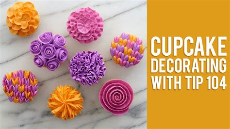 flower decorating tips how to decorate buttercream flower cupcakes youtube