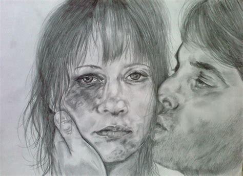 imagenes infantiles de violencia de genero no a la violencia de genero mis dibujos a grafito quot no a