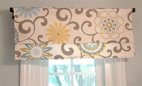 Easy To Make Valances easy window valance home