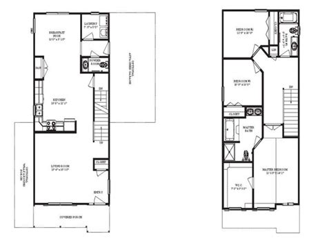 narrow floor plans narrow homes floor plans jab188