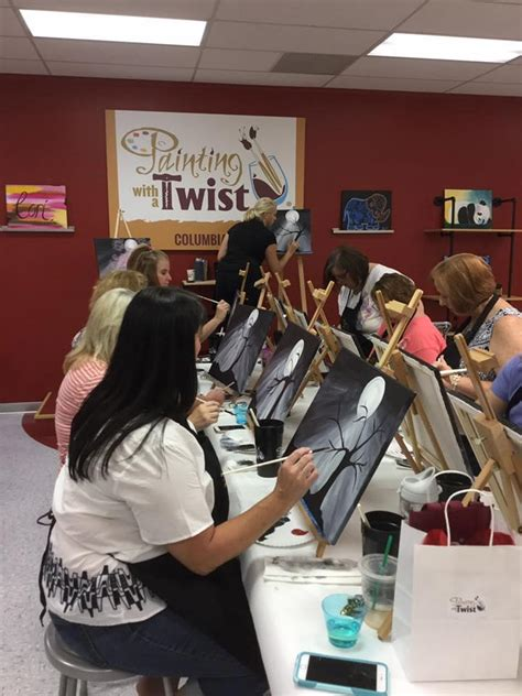 paint with a twist harbison painting with a twist in columbia sc 803 470 0