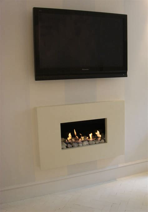 Fireplace Fuel Gel by Ribbon Flame With Limestone Project Summary Bio Fires