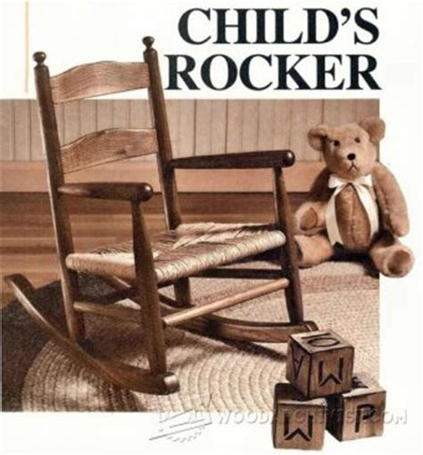 kids rocking chair plans woodarchivist