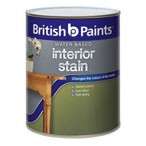 Interior Based Paint by Paints 250ml Jarrah Water Based Interior Stain
