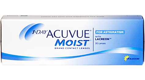 1-Day Acuvue Moist for Astigmatism 30 pack | 1-800 CONTACTS 1 800 Contacts Rebates