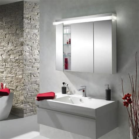 interior bathroom mirror with led lights build outdoor