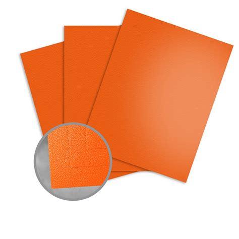 5 11 Orange Cover Orange orange peel paper 27 1 2 x 39 3 8 in 11 5 pt cover
