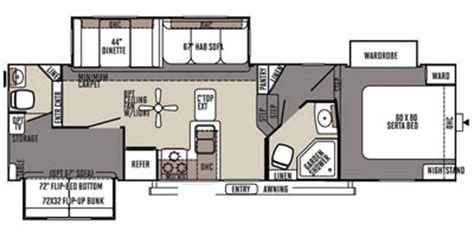 rockwood fifth wheel floor plans 2015 rockwood signature ultra lite fifth wheel series m