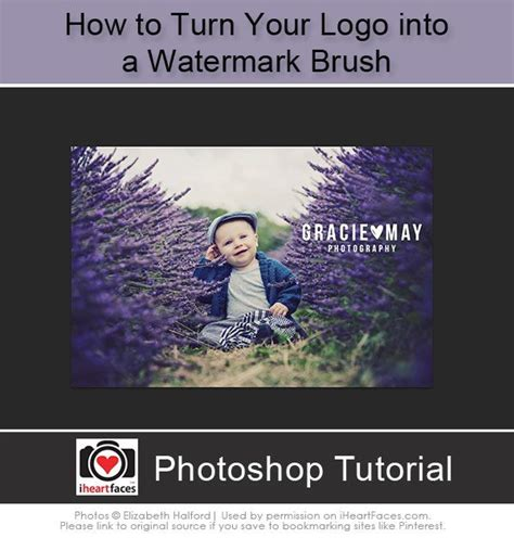 photoshop tutorial watermark logo 17 best images about watermarking on pinterest logos
