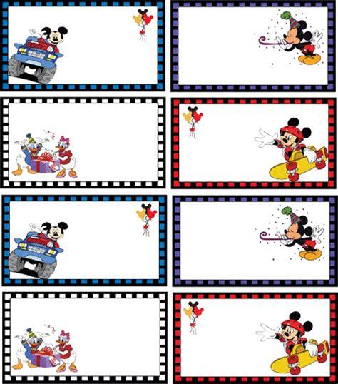 etiquetas de mickey mouse para imprimir gratis imagui