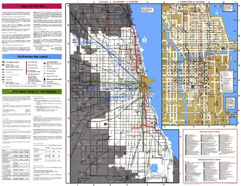 chicago l map chicago l org system maps route maps