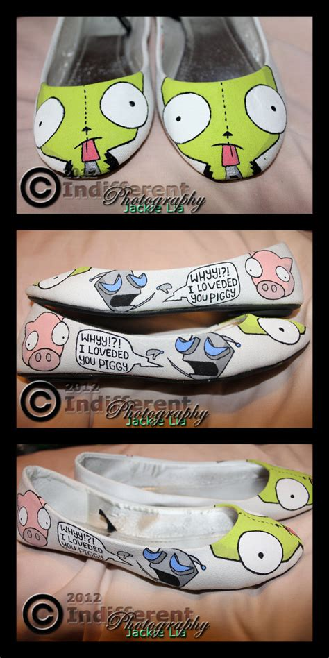 gir slippers shoes invader zim gir filled in 2 by