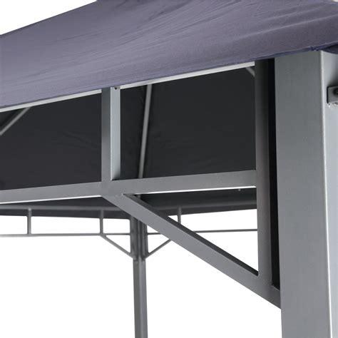 pavillon 3 x 3 tepro pavillon 3x3 faltpavillon lehua dunkelblau