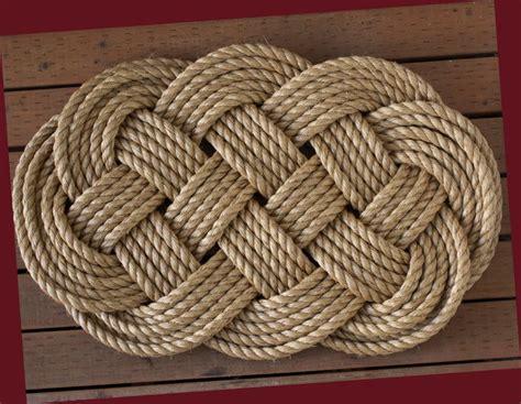 nautical welcome mat large braided rope door mat sailor