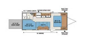 kz hauler floor plans mxt travel trailer toy haulers kz bell cer sales