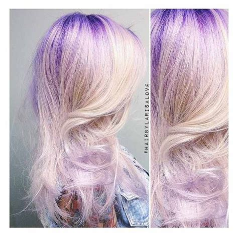 color melt with darkerr root rooty violet colormelt hair colors ideas