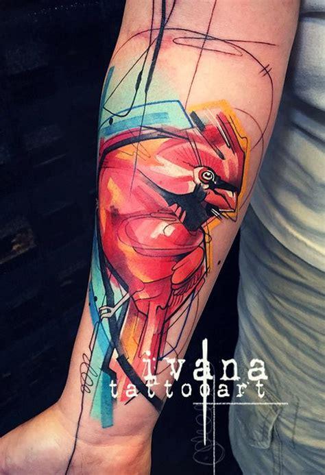 ivana tattoo gallery red cardinal by ivana tattoo art tattoonow